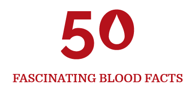 50 blood facts