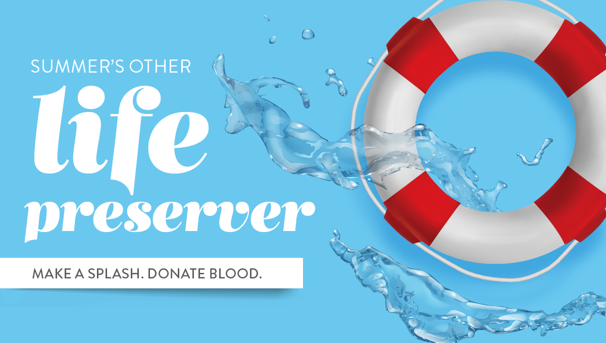 Make a splash by donating blood
